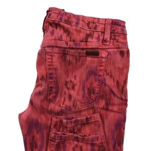 Joes Jeans Skinny Ankle Fit Aztec Jeans